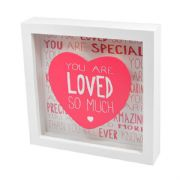 Messages of Love Loved So Much Light Up Frame